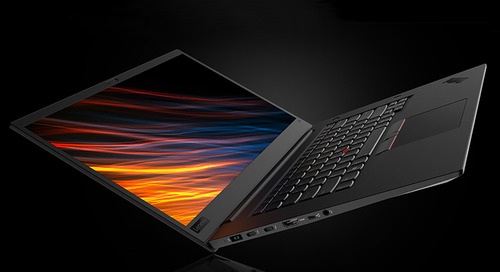 ThinkPad P1 Mobile Workstation Could Suit Small Business Power Users