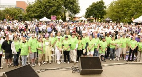 3rd Annual Brain Cancer Walk Raises Over $426,000