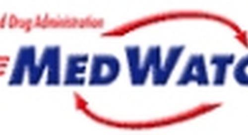 FDA MedWatch - Lamictal (lamotrigine): Risk of Aseptic Meningitis