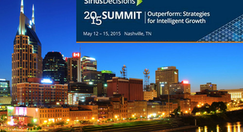 4 Key Takeaways from the 2015 SiriusDecisions Summit