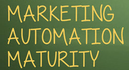 Infographic: The State of Marketing Automation Maturity (Blog)