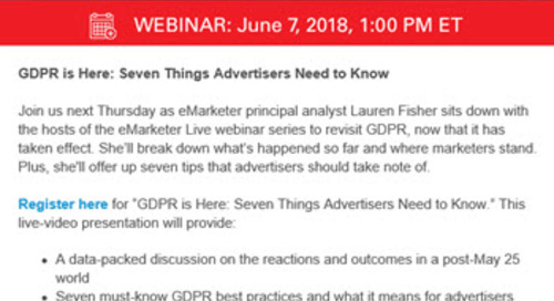 4 Simple Reasons for Why this Webinar Invitation Works
