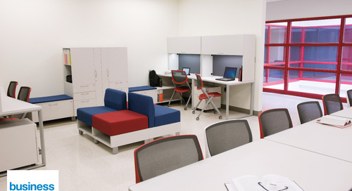 Flexible and collaborative spaces are transforming classroom learning