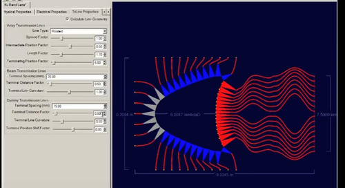 Tuning a Microstrip Lens in Rotman Lens Designer (RLD) and Options for Importing to XFdtd