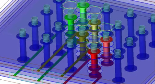 XFdtd EM CAD Geometry Import