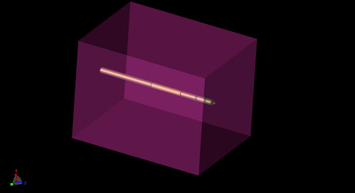 Antenna Performance Simulation of a Probe for Thermal Ablation