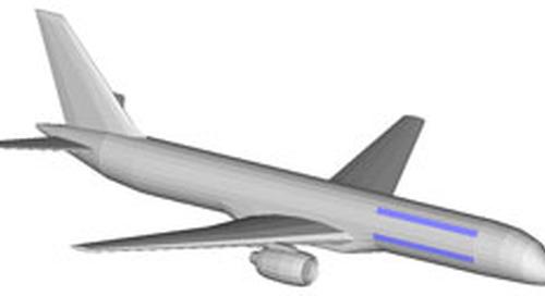 Antenna Coupling Simulation for Aircraft Circular Patch Antennas