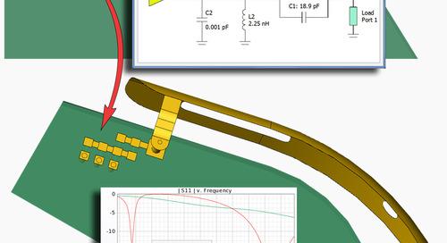 Antenna Design Workflow Using Full-Wave Matching Circuit Optimization