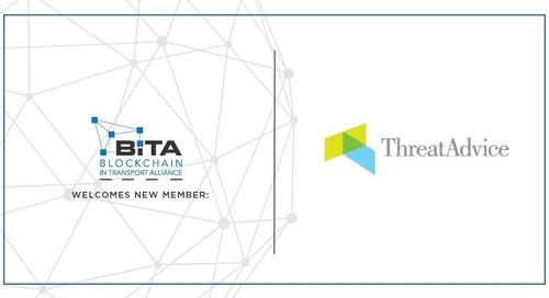 ThreatAdvice joins the Blockchain in Transport Alliance