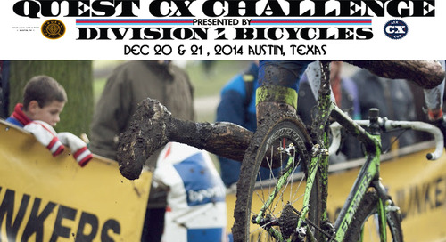 Interested in pre-riding the 2015 CX Nat Course? Visit Austin for the Quest ATX CX Challenge Dec. 20 & 21