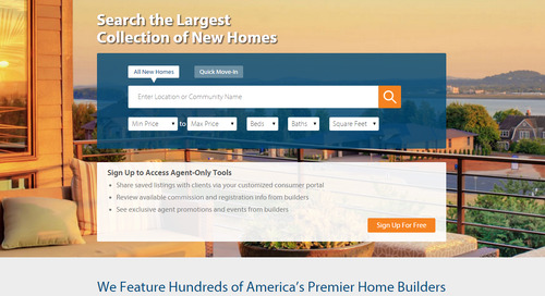 Features Agents Will Love about the NEW New Home Source Professional (And Why That's Great News for You!)