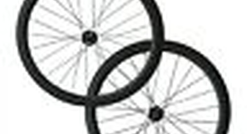 25mm width, Disc Brake hub 50mm tubular carbon Cyclocross bike wheelset