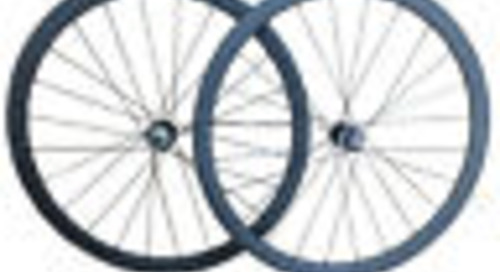 Disc brake 24mm tubular carbon road wheels/carbon fiber Cyclocross wheelset