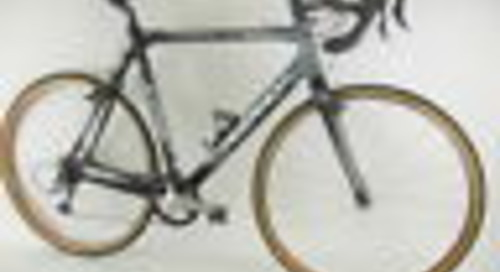 2008 Ridley X-Fire Carbon Cyclocross Road Bicycle Size 54cm Mavic Helium Tubular