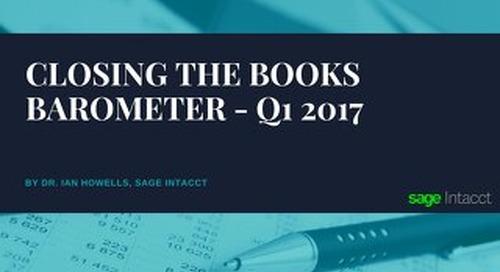 Closing the Books Barometer