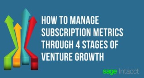 Managing SaaS Metrics eBook