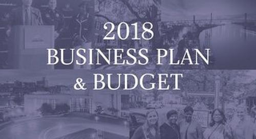 Visit Savannah 2018 Business Plan