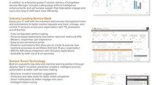 ChangeGear 7 Service Manager