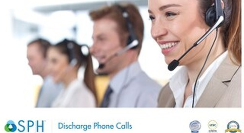 Brochure - Discharge Phone Calls