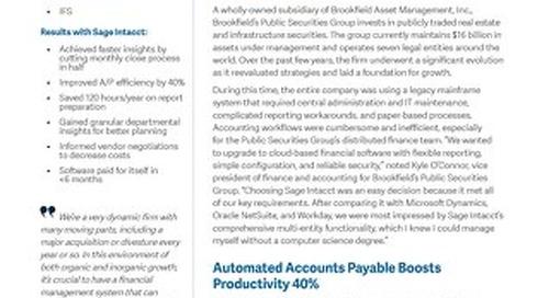 Brookfield Public Securities