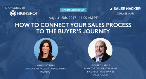 How to Connect Your Sales Process to the Buyer's Journey