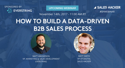 How to Build a Data-Driven B2B Sales Process