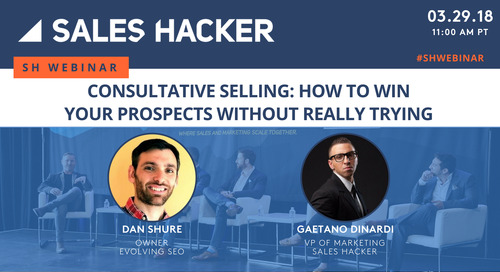 Consultative Selling: How To Win Your Prospects Without Really Trying