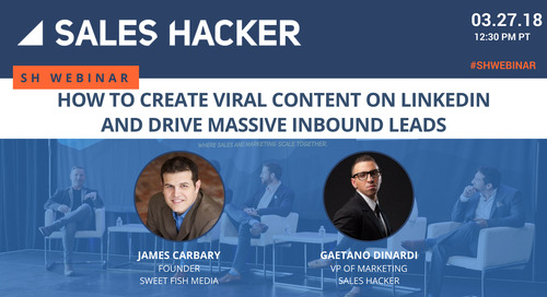 How To Create Viral Content On LinkedIn And Drive Massive Inbound Leads