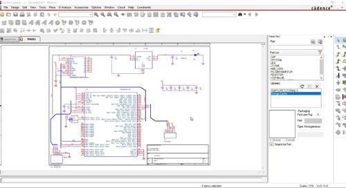 OrCAD Capture Tutorial: 07.Assign Part Information to the Design