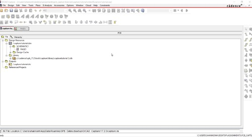 OrCAD Capture Tutorial: 09.Perform a Schematic DRC