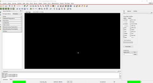 OrCAD PCB Editor Tutorial: 03. Set Up PCB Design and Draw a Board Outline