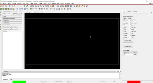 OrCAD PCB Editor Tutorial: 04.Create and Place Mechanical Symbols