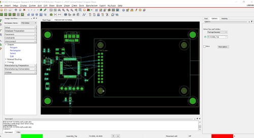 OrCAD PCB Editor Tutorial: 07. Create Copper Plane and Shapes