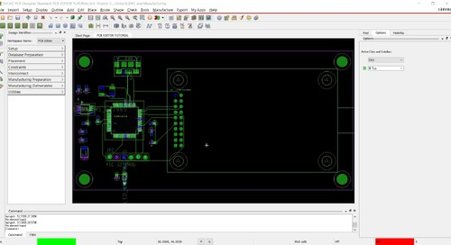 OrCAD PCB Editor Tutorial: 09. DRC checking and Manufacturing