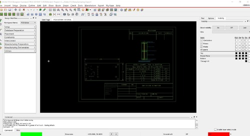 OrCAD PCB Editor Tutorial: 11. Manufacturing Export