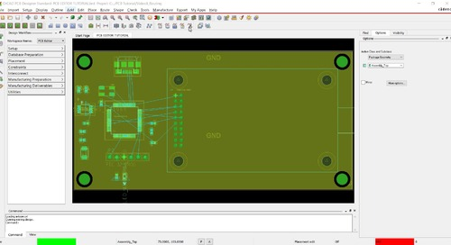 OrCAD PCB Editor Tutorial: 08. Routing
