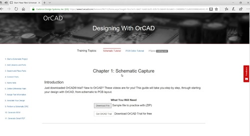 OrCAD Capture Tutorial: Getting Started
