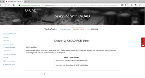 OrCAD PCB Editor Tutorial: 00.Getting Started