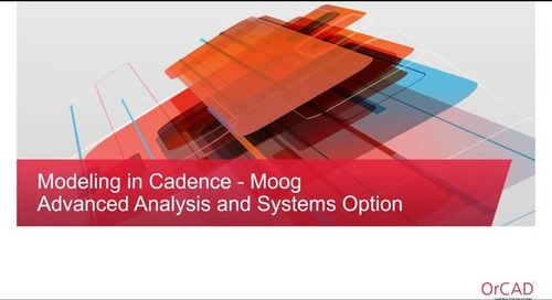 Moog Webex Session: PSpice #2