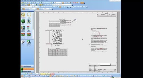 Creating a Fabrication Drawing in OrCAD Documentation Editor