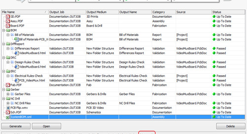 Design Tip: Using the PCB Release View to Automate Output Job File Processing
