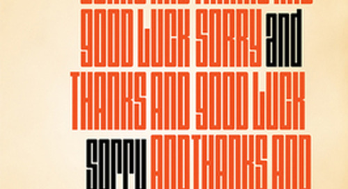 Review: 'Thanks and Sorry and Good Luck: Rejection Letters from the Eyeshot Outbox' by Lee Klein