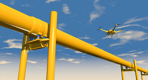 How can drone technology benefit the oil and gas industry?