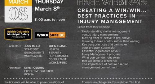 Free Webinar March 8th