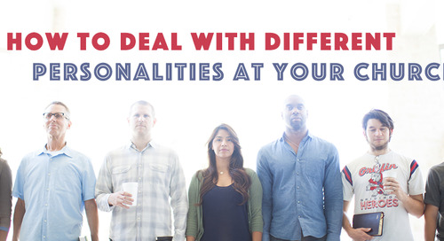 How to Deal with Different Personalities in the Church