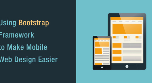 Using Bootstrap Framework to Make Mobile Web Design Easier