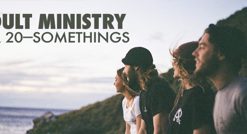 Adult Ministry for 20-Somethings