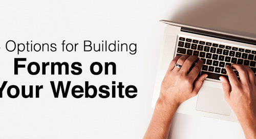 5 Options for Building Forms on Your Website