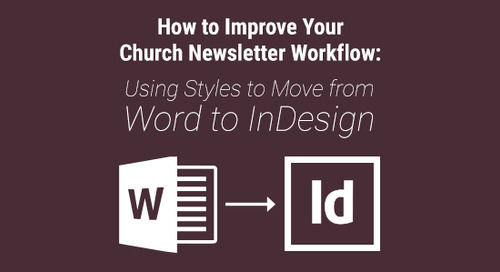 How to Improve Your Church Newsletter Workflow