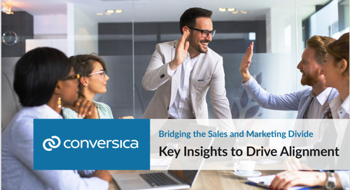 New eBook: Bridging the Sales & Marketing Divide: Key Insights to Drive Alignment